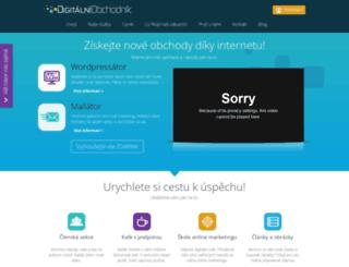 digitalni-obchodnik.cz screenshot