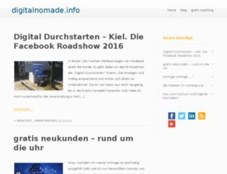 digitalnomade.info screenshot