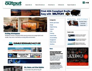 digitaloutput.net screenshot
