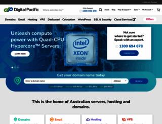 digitalpacific.com.au screenshot