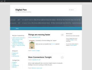 digitalpen.edublogs.org screenshot