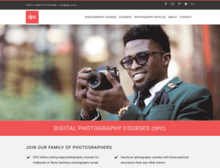 digitalphotographycourses.co.za screenshot