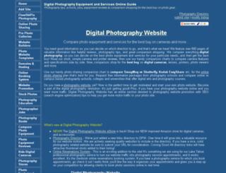 digitalphotographywebsite.com screenshot