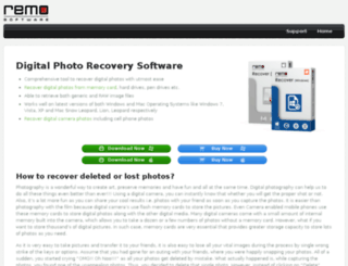 digitalphotorecoverysoftware.net screenshot