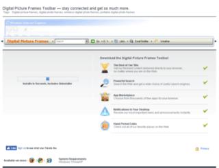 digitalpictureframes.mystoretoolbar.com screenshot