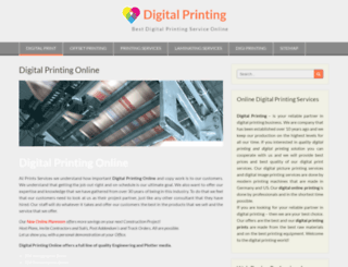digitalprinting.digiprintlab.com screenshot