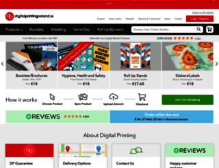 digitalprintingireland.ie screenshot