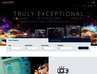 digitalprojection.co.uk screenshot