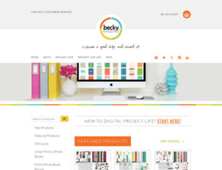 digitalprojectlife.myshopify.com screenshot