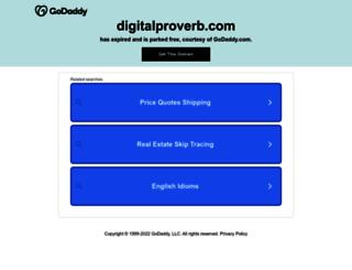 digitalproverb.com screenshot