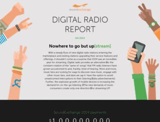 digitalradioreport2014q4.soundexchange.com screenshot