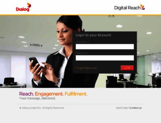 digitalreach.dialog.lk screenshot