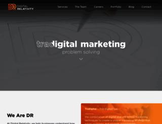 digitalrelativity.com screenshot