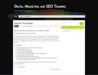 digitalseocoursetraining.wordpress.com screenshot