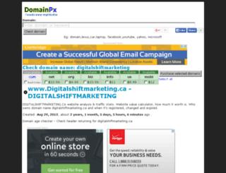 digitalshiftmarketing.ca.domainpx.com screenshot