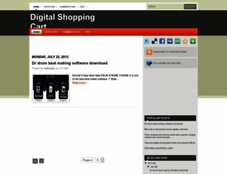 digitalshoppingcart.blogspot.com screenshot