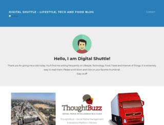 digitalshuttle.blogspot.in screenshot