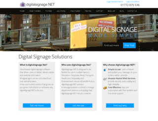 digitalsignage.net screenshot