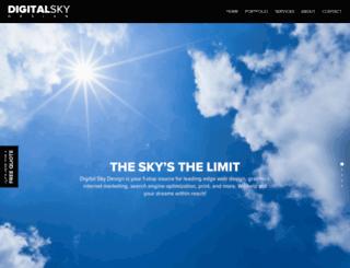 digitalskydesign.com screenshot