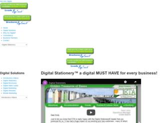 digitalstationery.co.uk screenshot