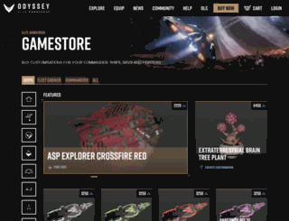 digitalstore.elitedangerous.com screenshot