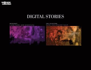 digitalstories.wellcomecollection.org screenshot
