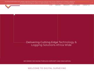 digitalsurveying.co.za screenshot