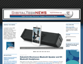 digitaltechnews.com screenshot