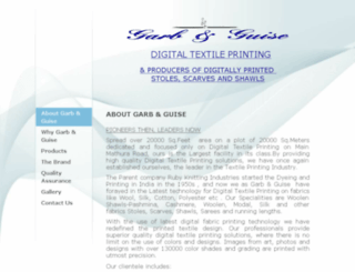 digitaltextileprinting.in screenshot