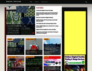 digitaltextiles.net screenshot