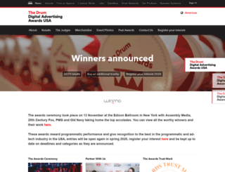 digitaltradingawards.com screenshot