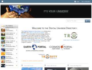 digitaluniverse.net screenshot