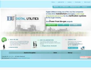 digitalutilities.in screenshot