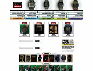 digitalwatchlibrary.com screenshot