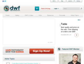 digitalweddingforum.com screenshot