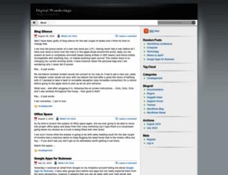 digitalwonderings.wordpress.com screenshot