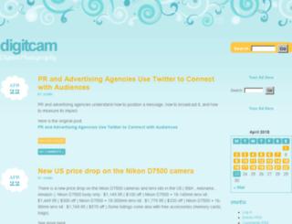digitcam.sk screenshot