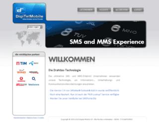 digitelmobile.at screenshot
