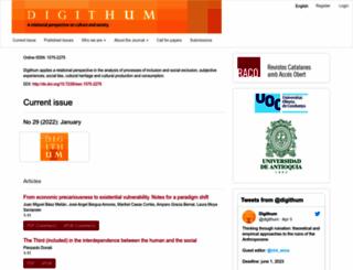 digithum.uoc.edu screenshot