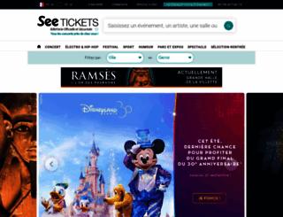 digitick.com screenshot