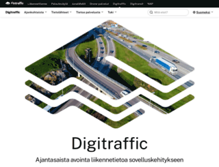 digitraffic.fi screenshot