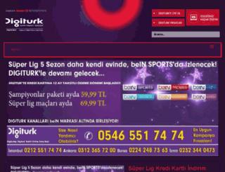 digiturk.web.tr screenshot