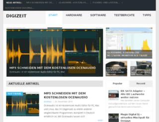 digizeit-cms.de screenshot