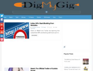 digmygig.org screenshot