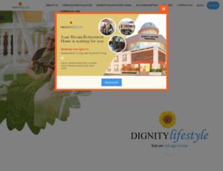 dignitylifestyle.org screenshot