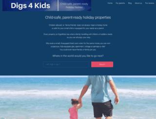 digs4kids.com screenshot