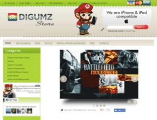 digumzstore.com screenshot