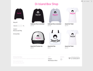 diislandbox.storenvy.com screenshot