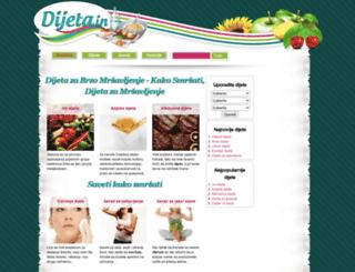 dijeta.in screenshot