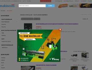 dijitalbaskimakinesi.makinecim.com screenshot